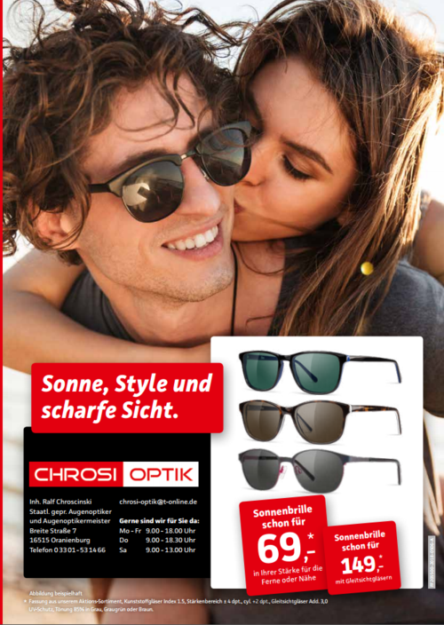 CHROSI OPTIK Gutschein-Shop